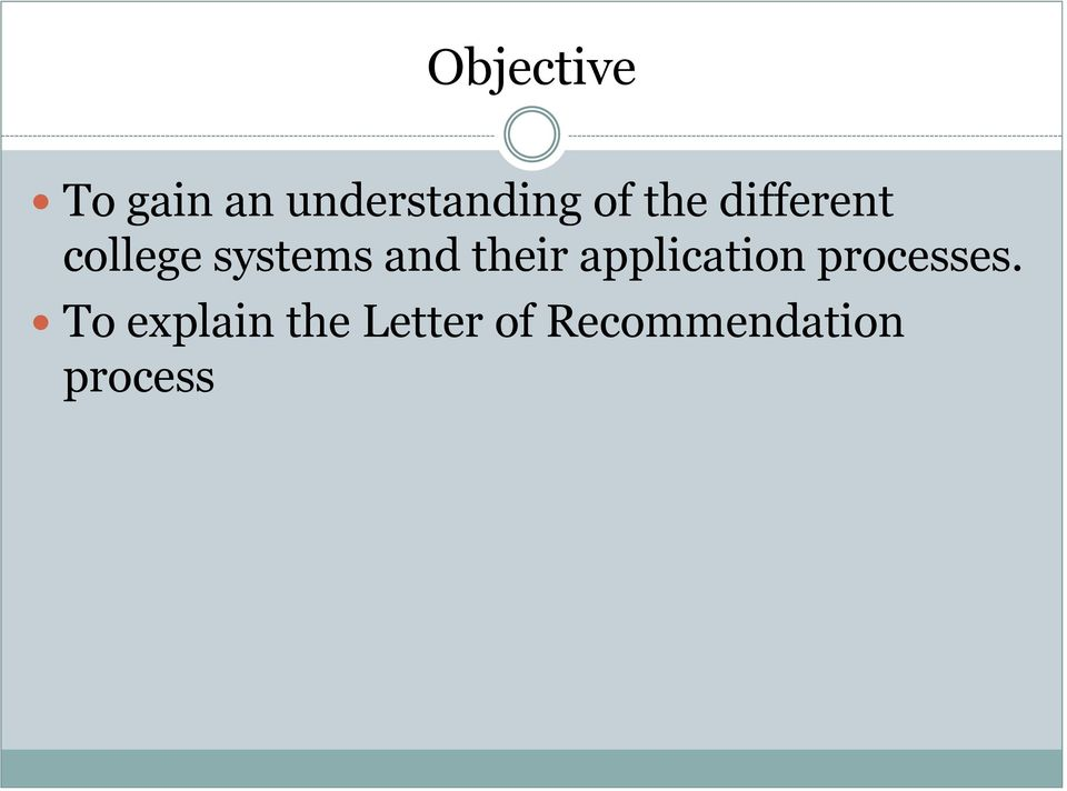 their application processes.