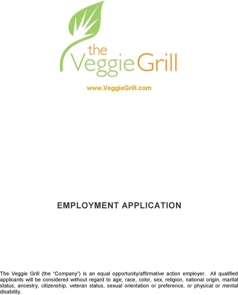 opportunity/affirmative action employer.