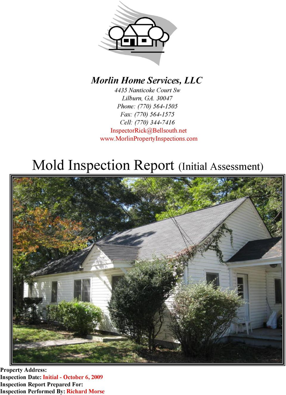 net www.morlinpropertyinspections.