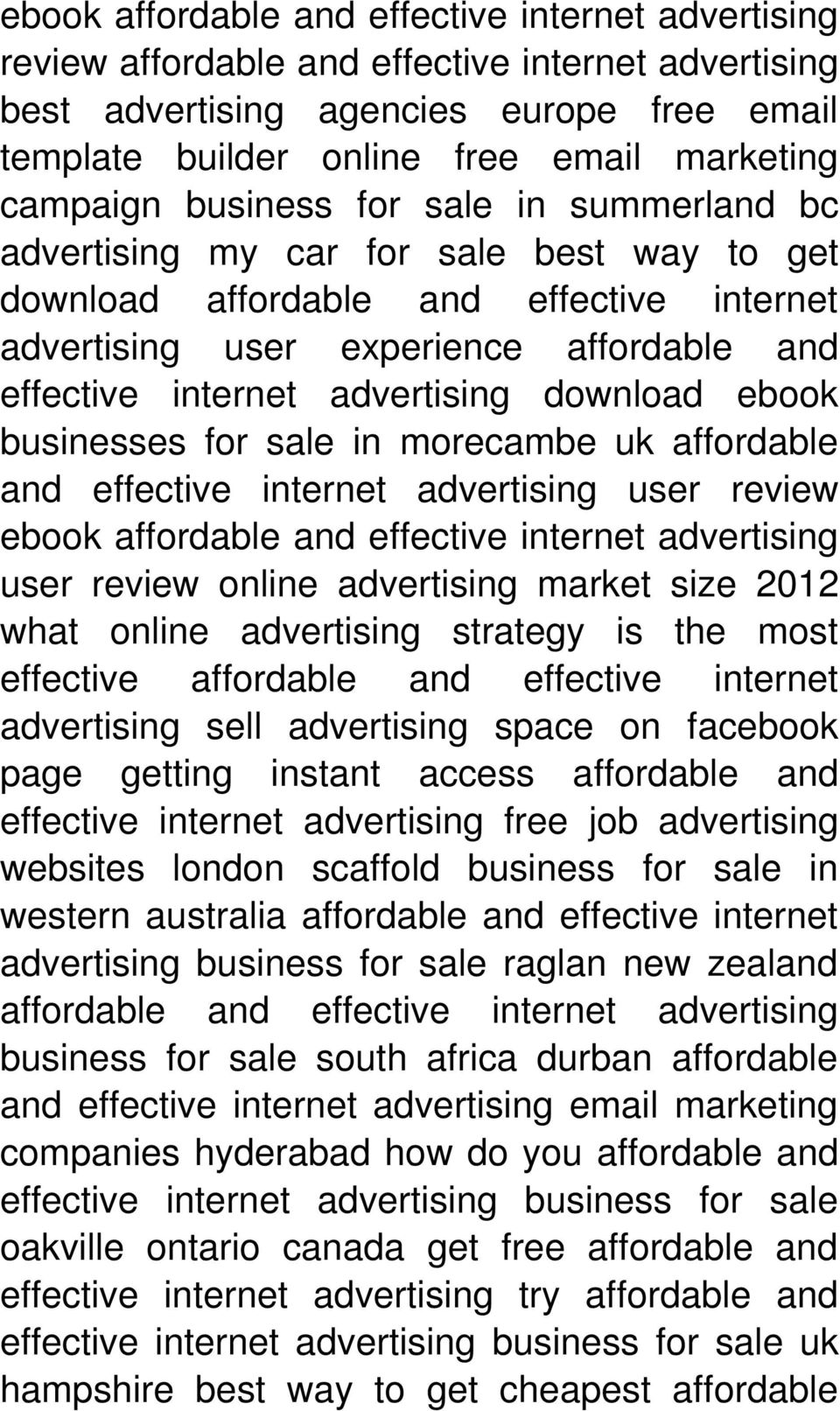 advertising user review ebook user review online advertising market size 2012 what online advertising strategy is the most effective affordable and effective internet advertising sell advertising