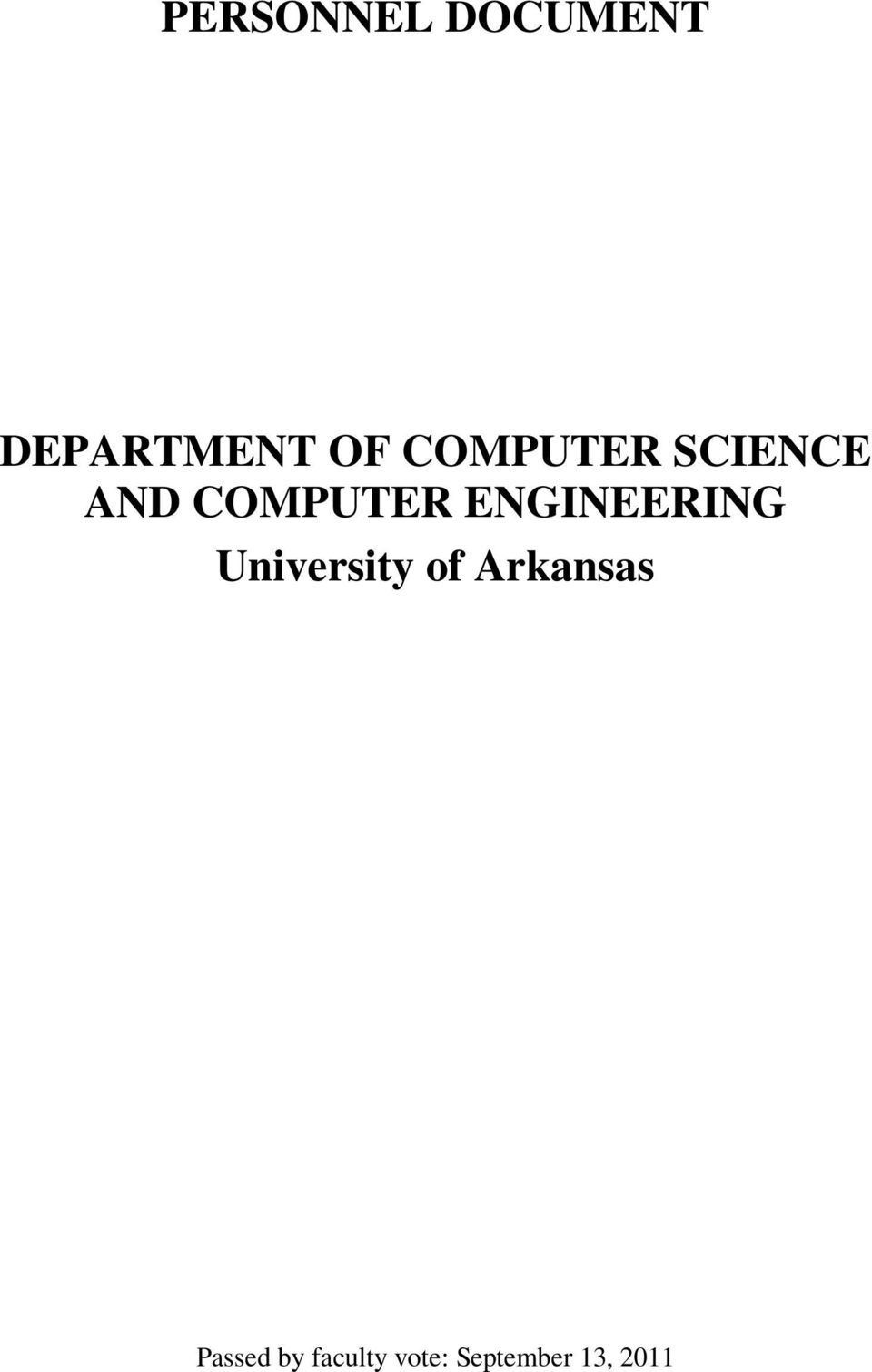 ENGINEERING University of Arkansas