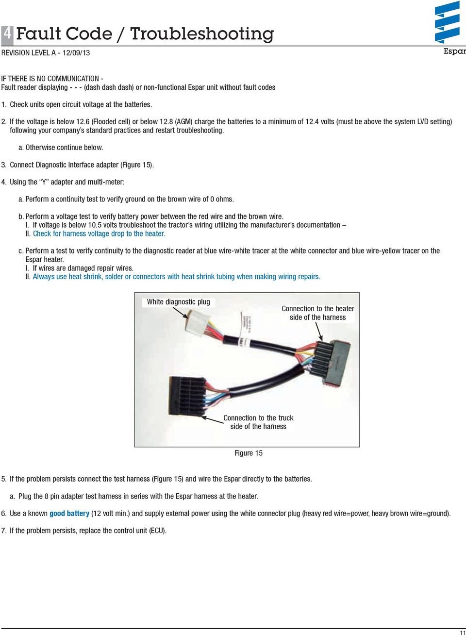 Airtronic D2 D4 Diagnostic And Repair Manual Pdf Eberspacher Rheostat Controller Plugged Into Its Connector If The 4 Volts Must Be Above System Lvd Setting Following Your Company S Standard