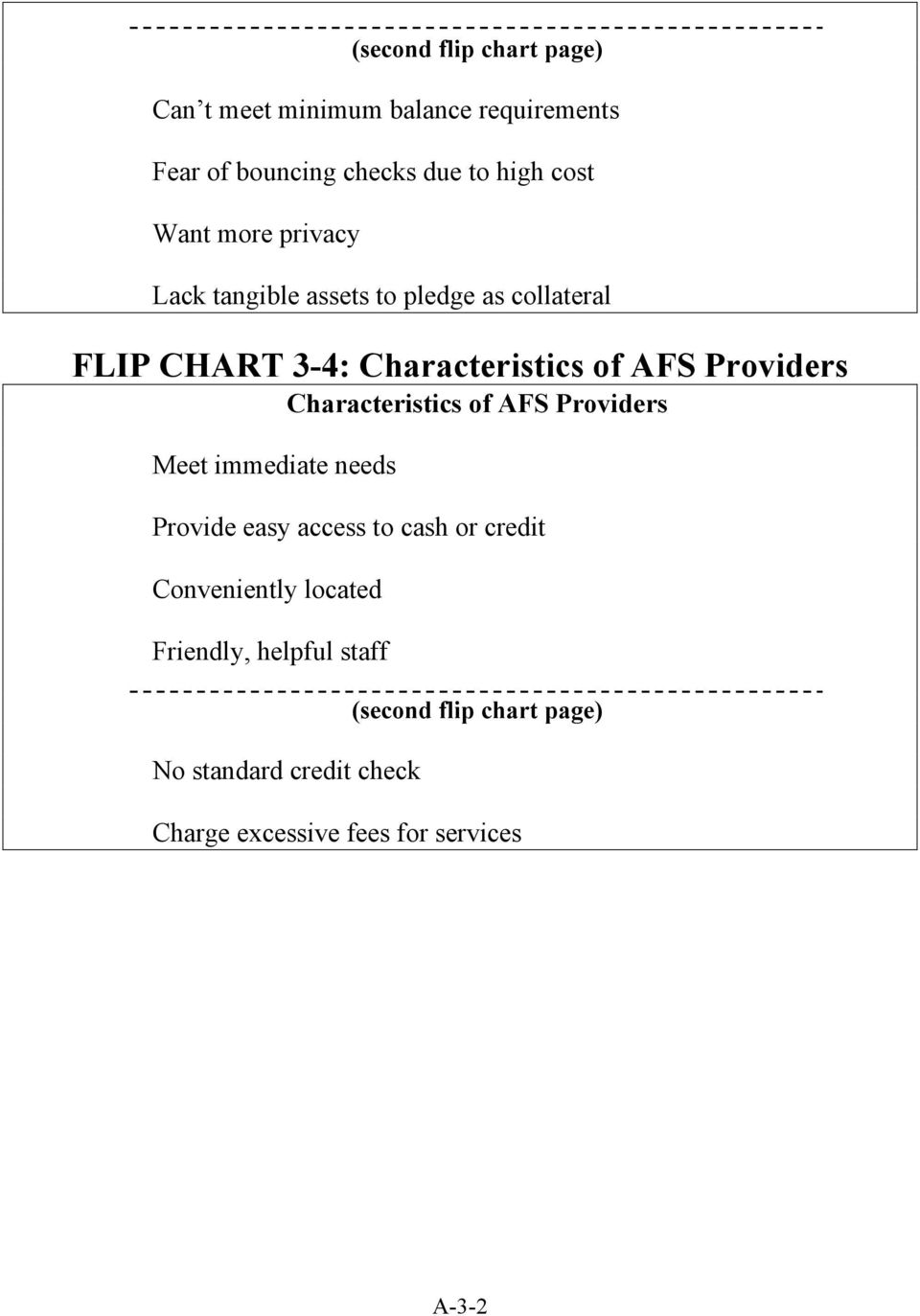 Characteristics of AFS Providers Meet immediate needs Provide easy access to cash or credit Conveniently