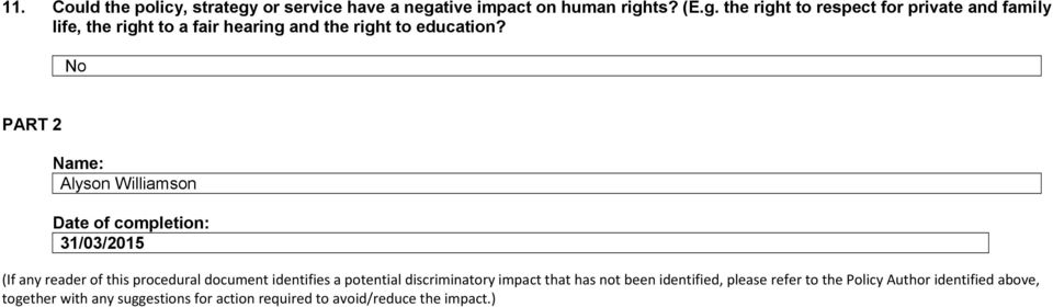 tive impact on human righ