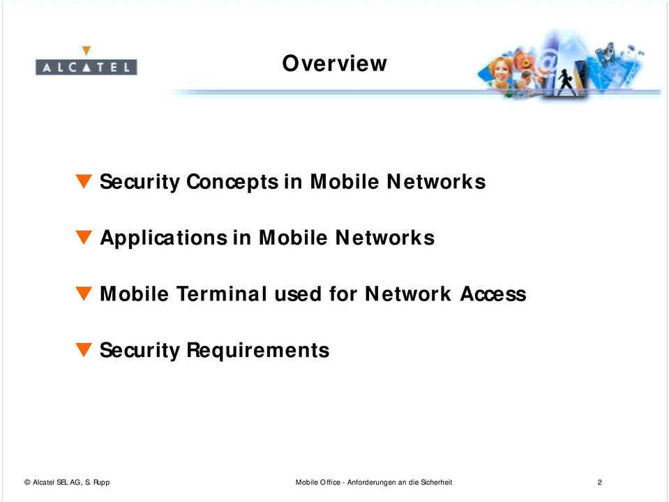 for Network Access Security Requirements Alcatel SEL