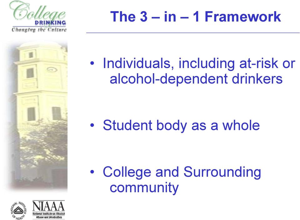 alcohol-dependent drinkers Student
