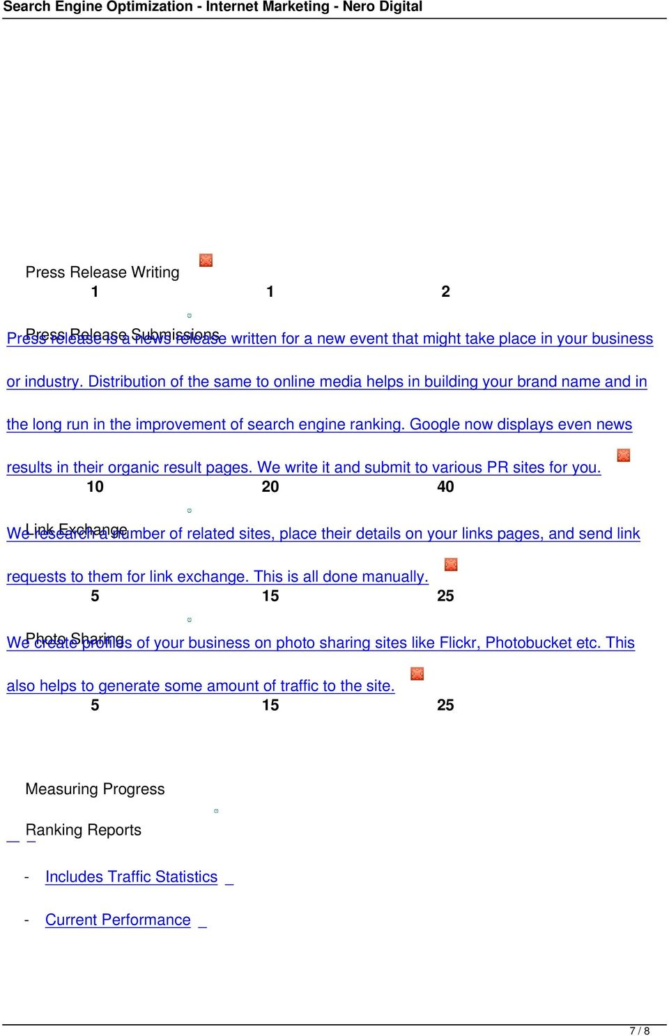 Google now displays even news results in their organic result pages. We write it and submit to various PR sites for you.