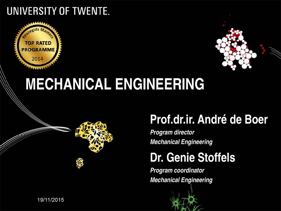 Mechanical Engineering Dr.
