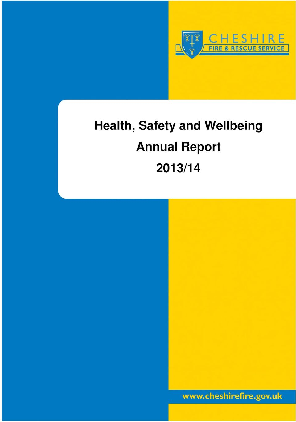 Annual Report Sub title of Report/document 2013/14