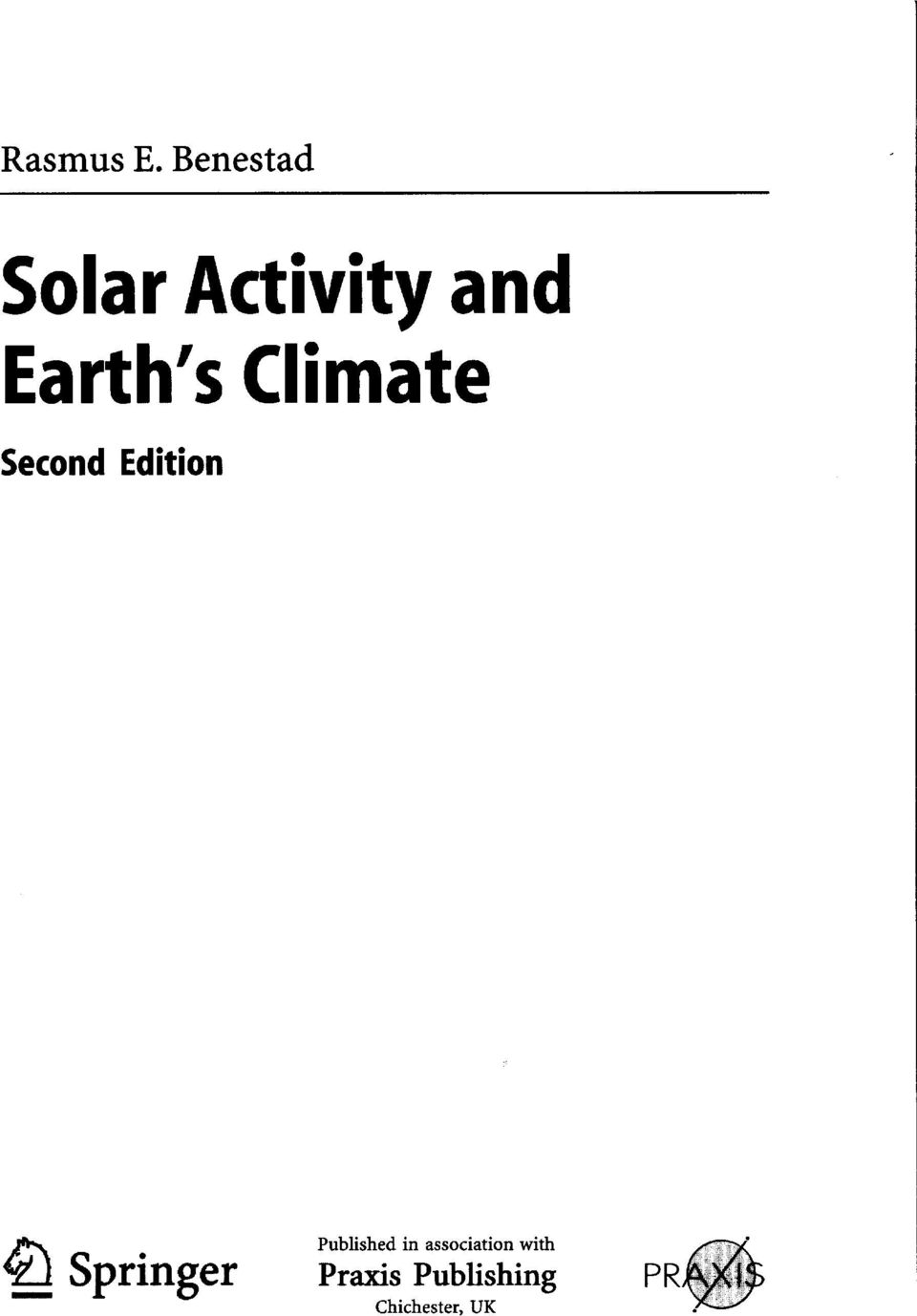 Climate Second Edition Published in