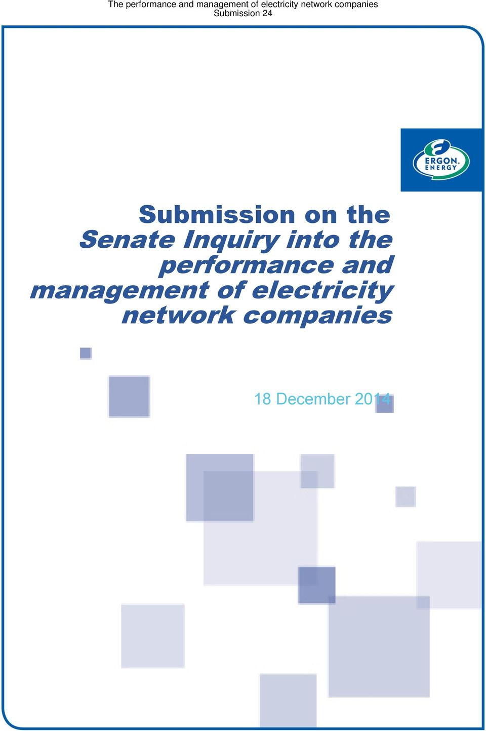 and management of electricity