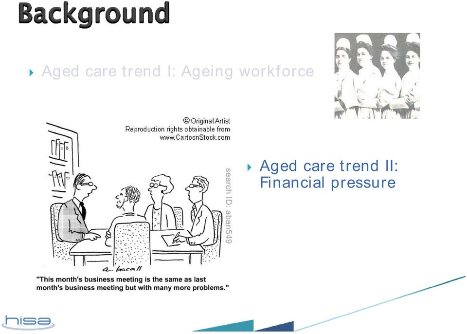 Aged care trend