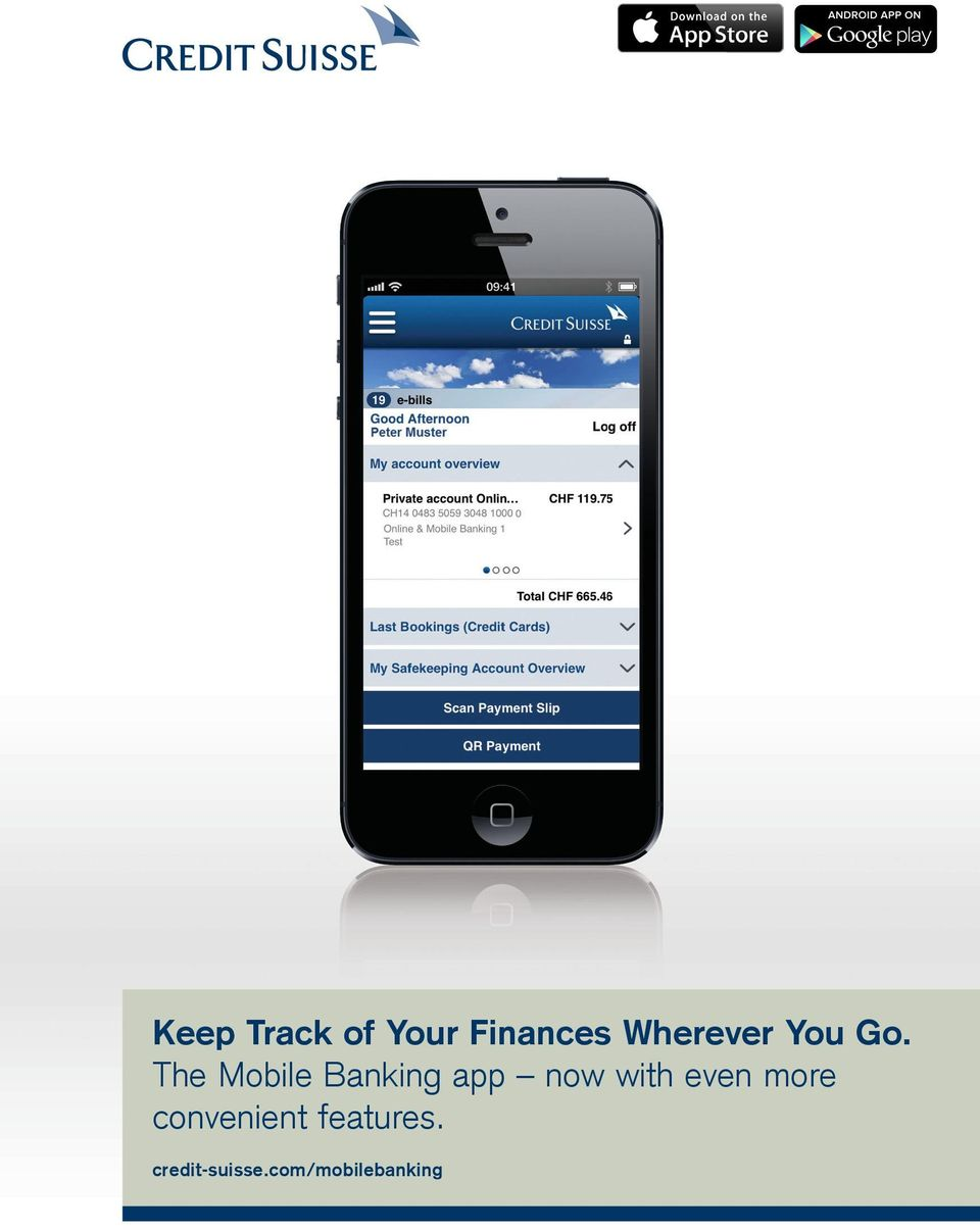 The Mobile Banking app now with