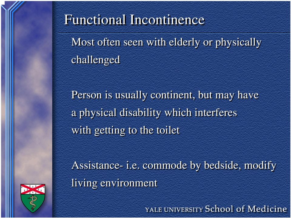 have a physical disability which interferes with getting to