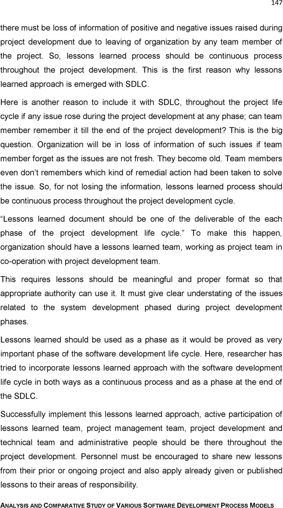 4  Incorporate Lessons Learned with SDLC - PDF