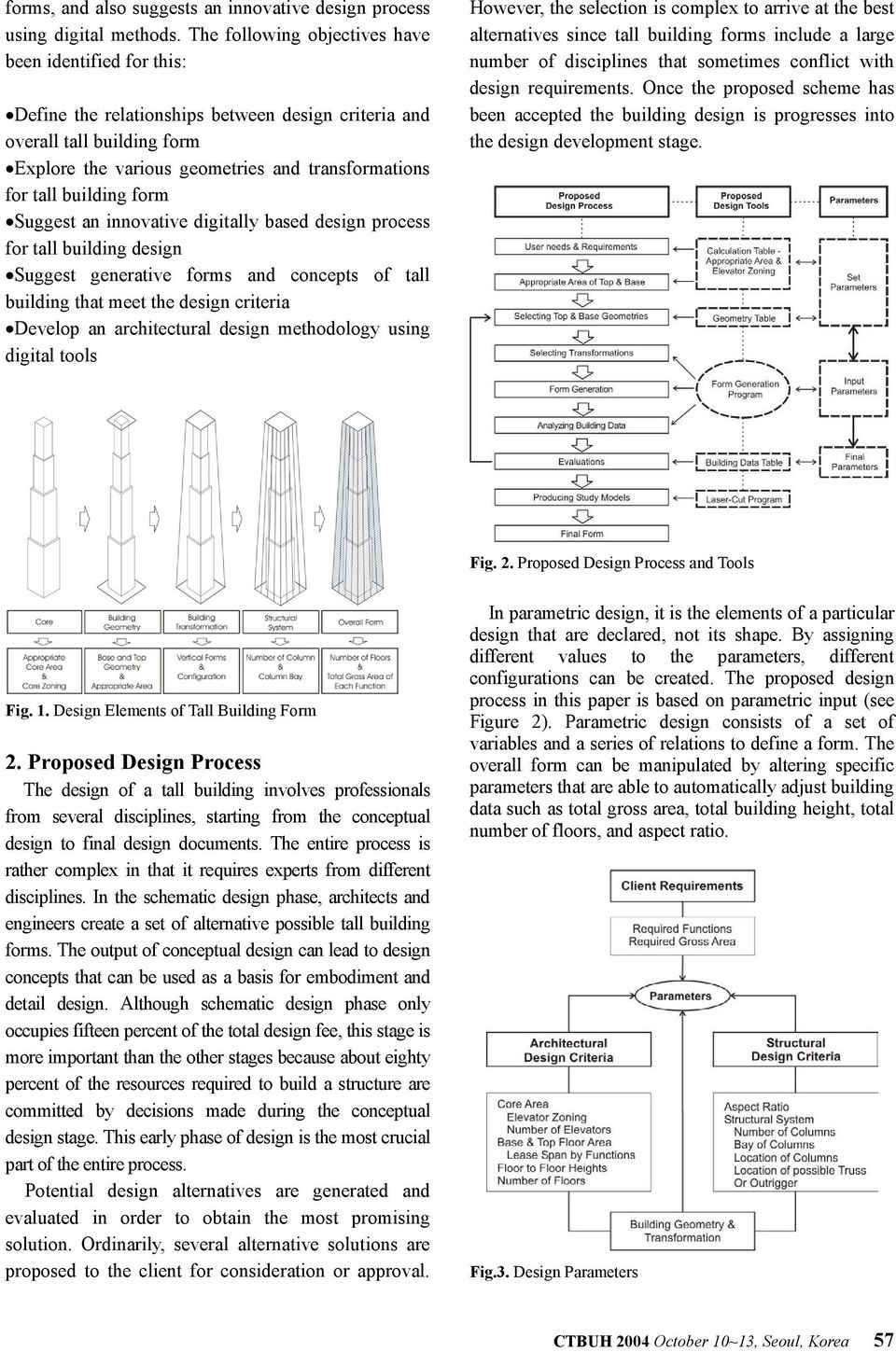 building form Suggest an innovative digitally based design process for tall building design Suggest generative forms and concepts of tall building that meet the design criteria Develop an