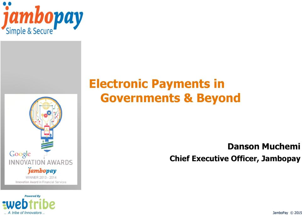 Governments & Beyond Danson