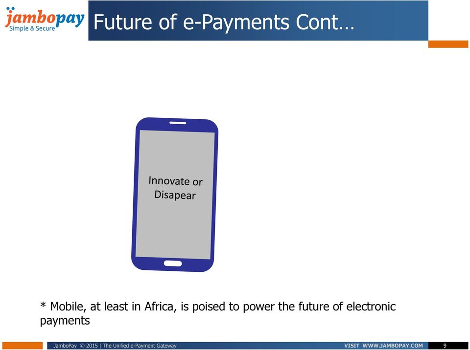 electronic payments JamboPay 2015 The