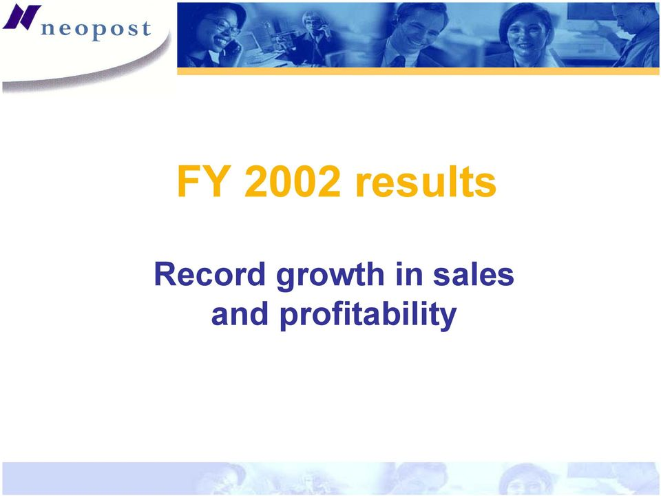 Record growth