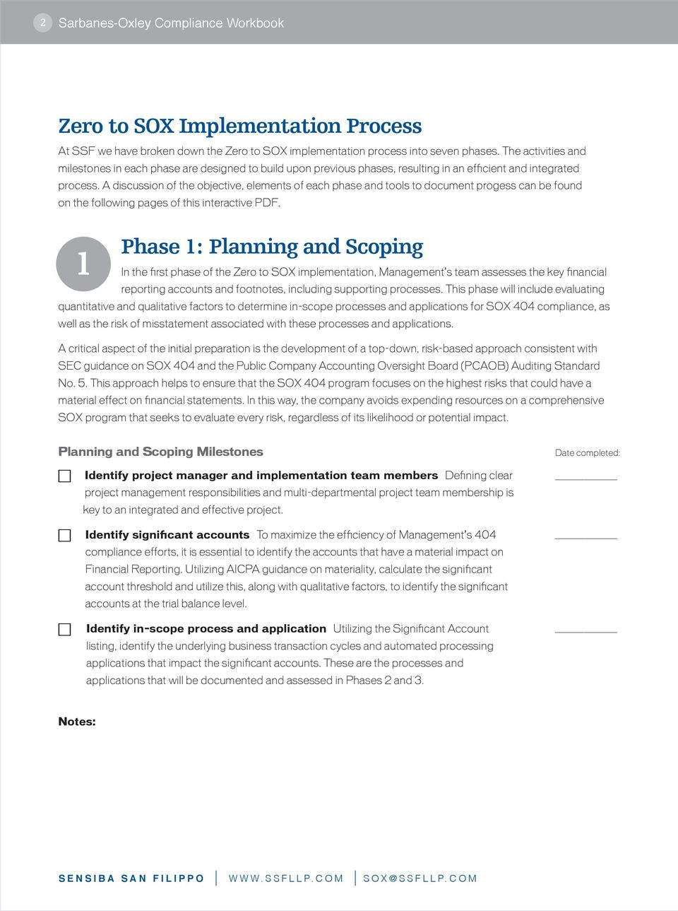 A discussion of the objective, elements of each phase and tools to document progess can be found on the following pages of this interactive PDF.