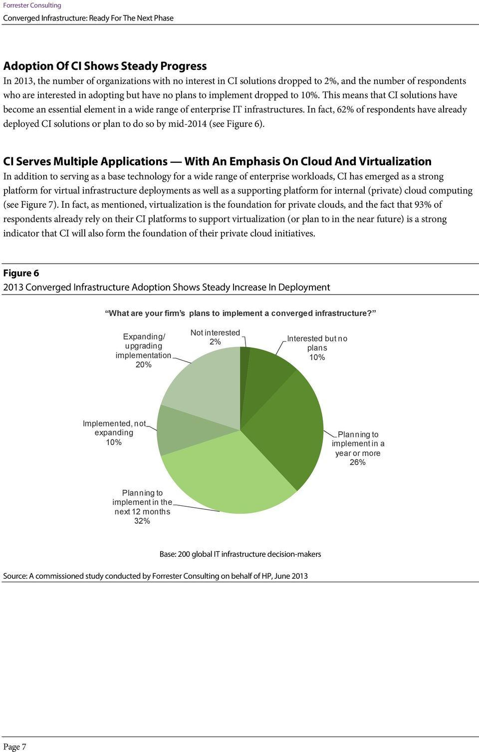 In fact, 62% of respondents have already deployed CI solutions or plan to do so by mid-2014 (see Figure 6).