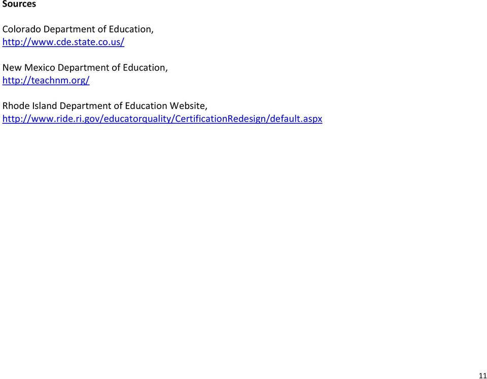 us/ New Mexico Department of Education, http://teachnm.