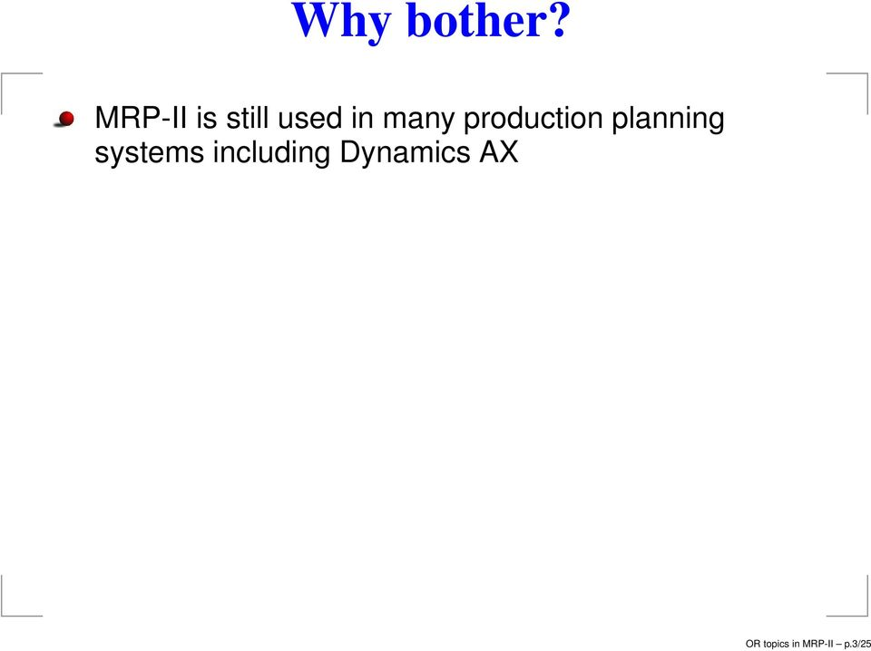production planning systems
