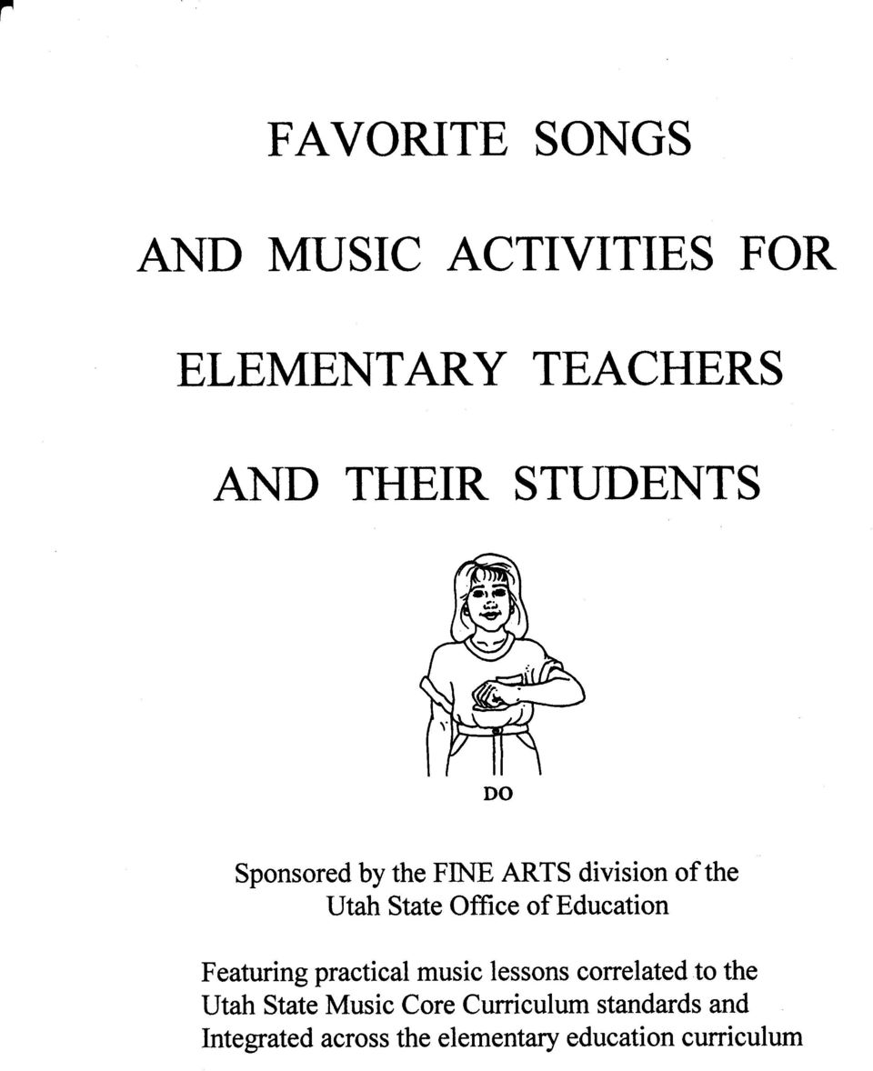 Education Featuring practical music lessons coffelated to the Utah State