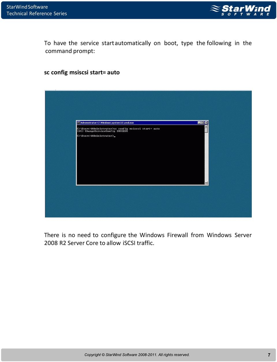 to configure the Windows Firewall from Windows Server 2008 R2 Server