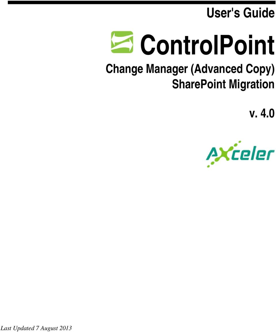 Copy) SharePoint Migration