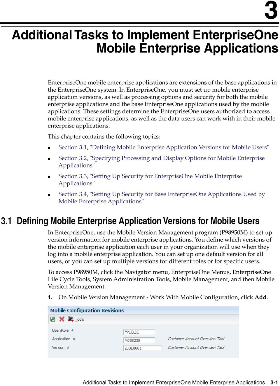 applications used by the mobile applications.