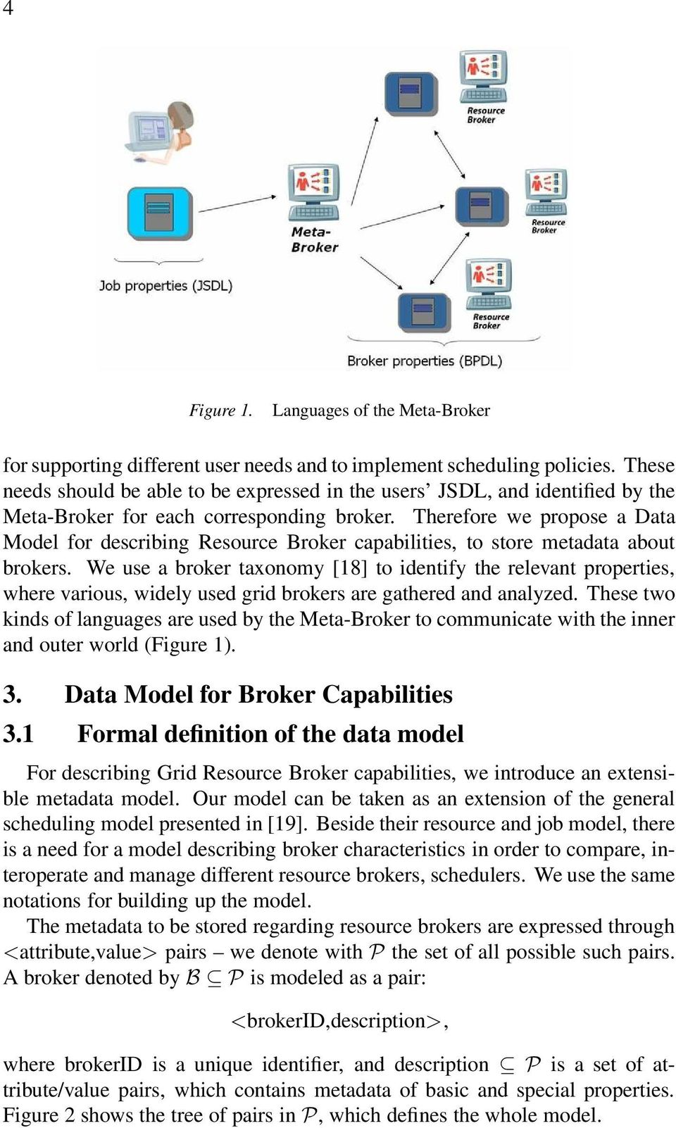 Therefore we propose a Data Model for describing Resource Broker capabilities, to store metadata about brokers.