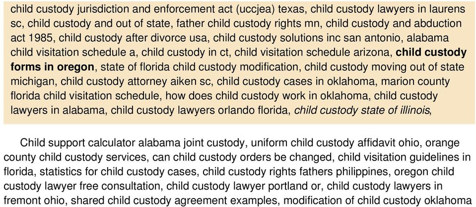 oregon, state of florida child custody modification, child custody moving out of state michigan, child custody attorney aiken sc, child custody cases in oklahoma, marion county florida child