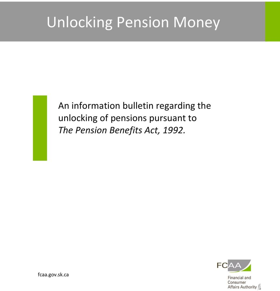 pensions pursuant to The
