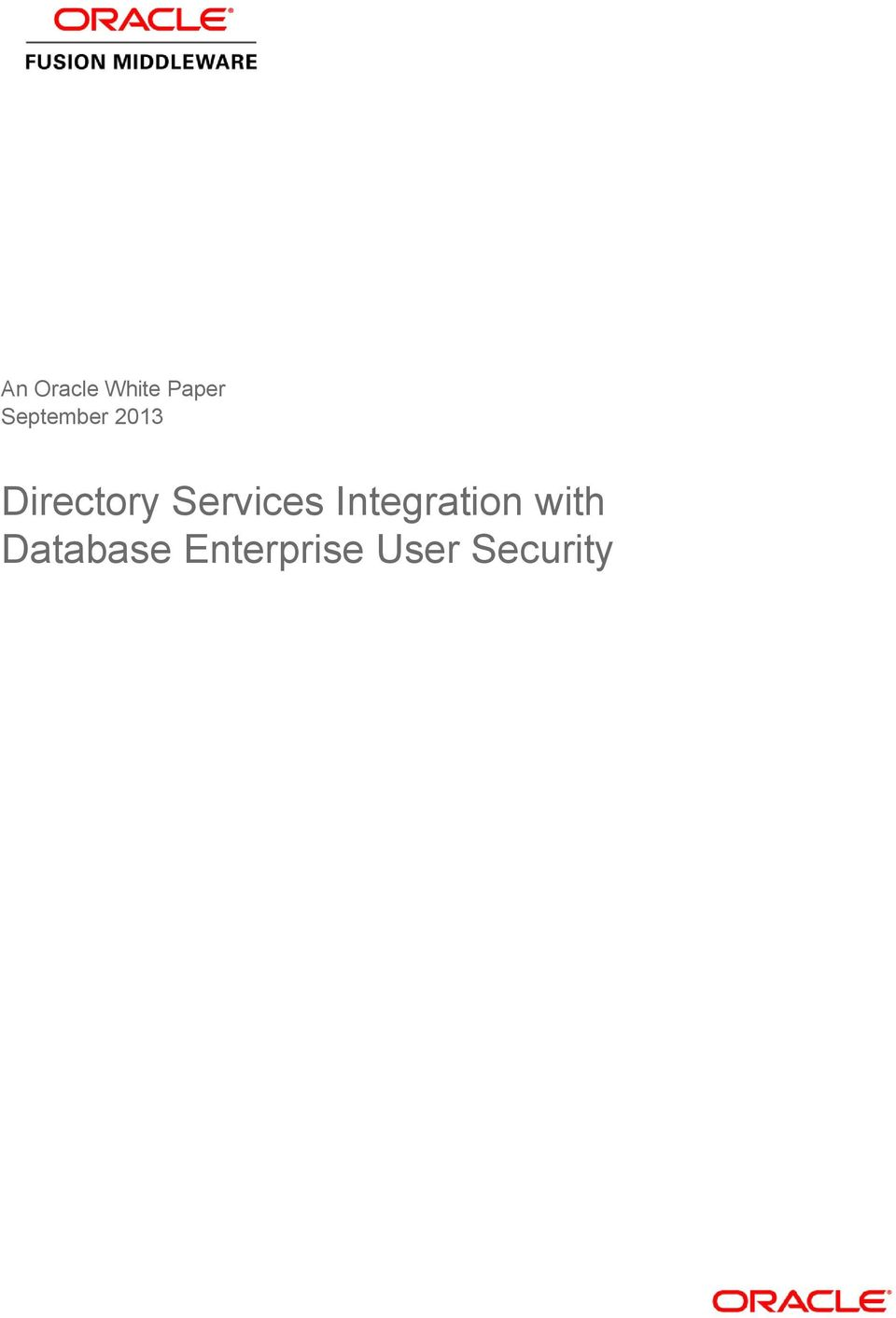 Services Integration with