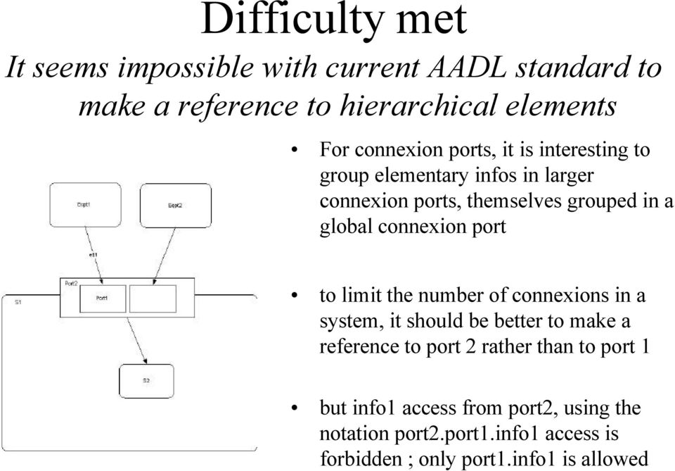 connexion port to limit the number of connexions in a system, it should be better to make a reference to port 2 rather