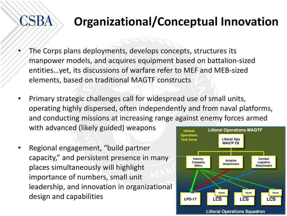 and from naval platforms, and conducting missions at increasing range against enemy forces armed with ihadvanced d(likely l guided) d) weapons Regional engagement, build partner capacity capacity,