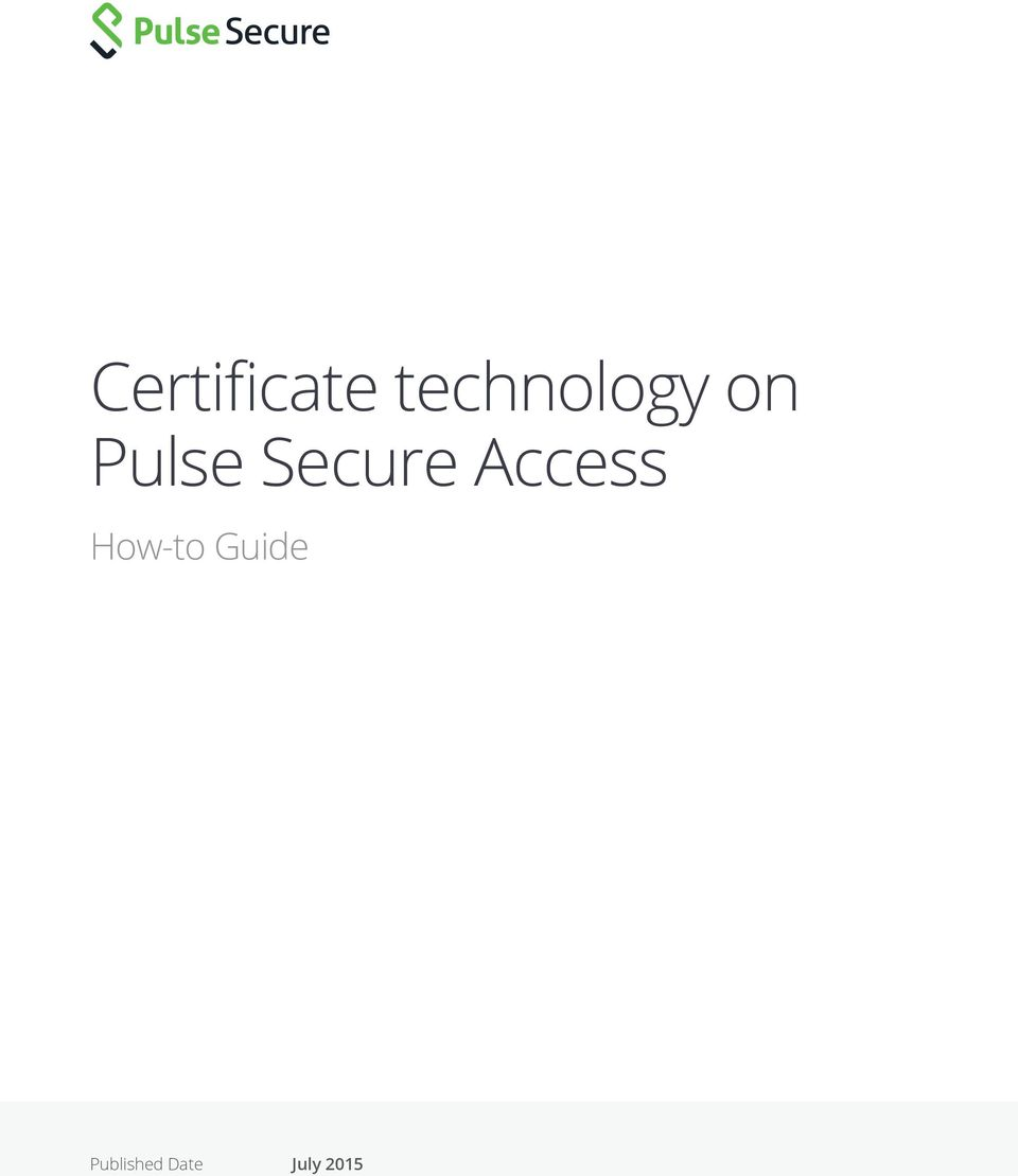 Secure Access How-to
