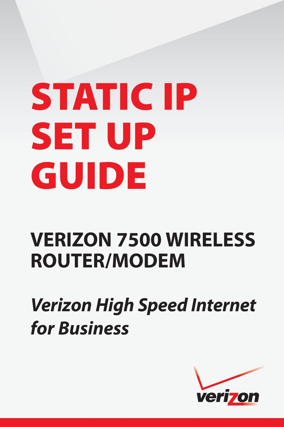 ROUTER/MODEM Verizon