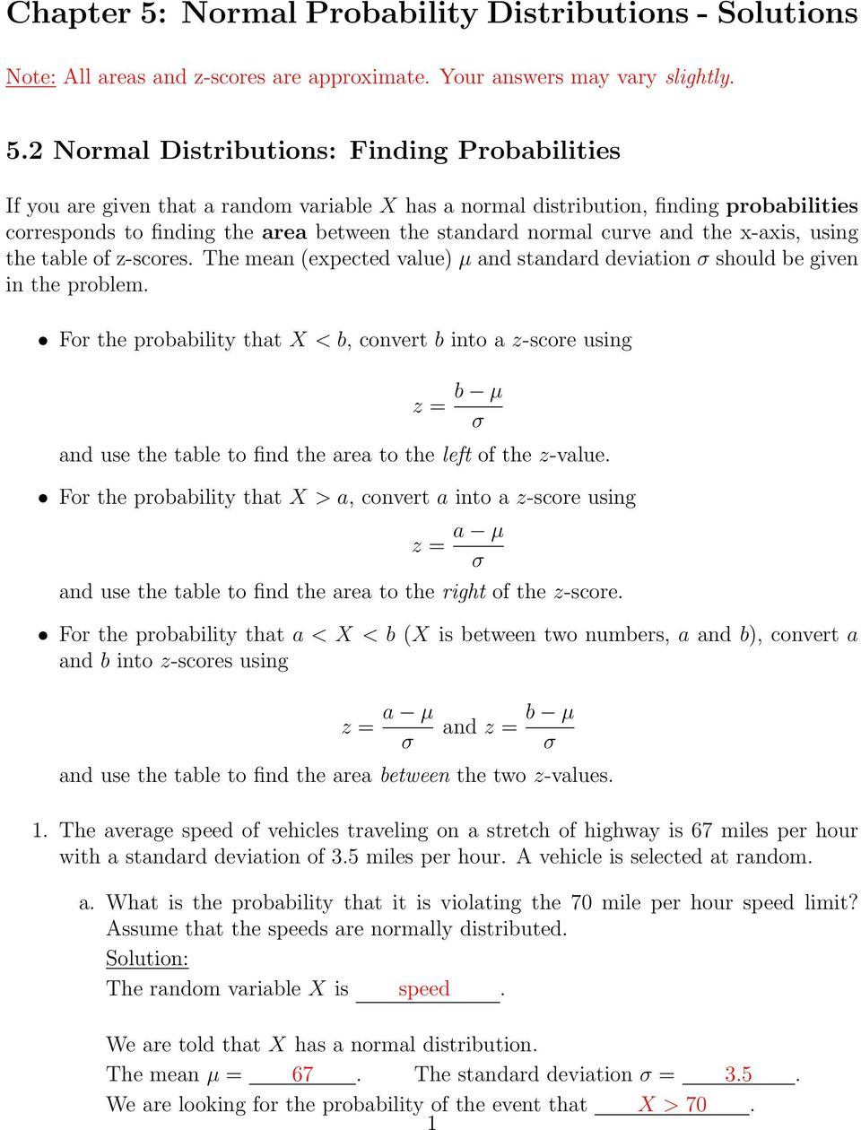 How To Calculate Standard Deviation In Excel Graph Solution For 2 Normal  Distributions: Finding Probabilities