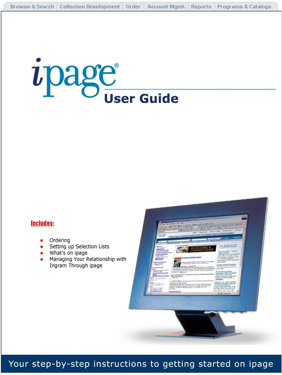 ipage Managing Your