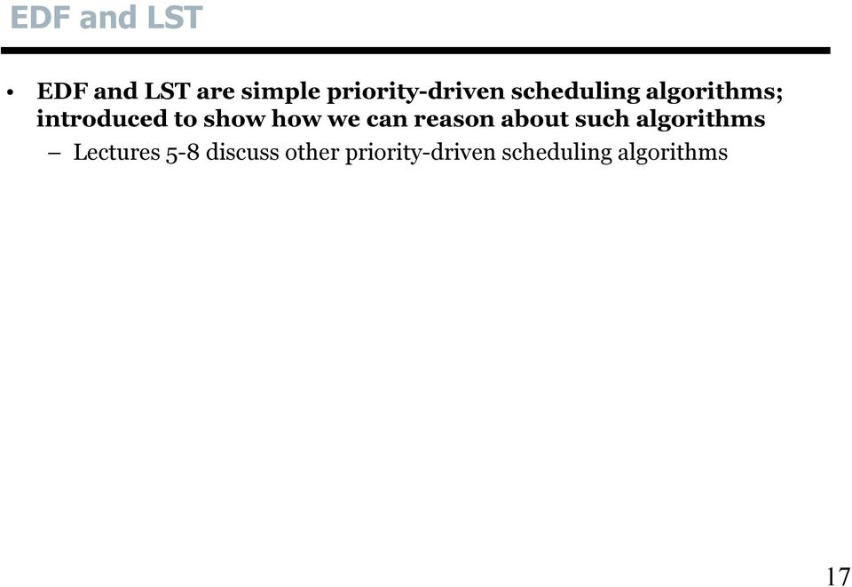 to show how we can reason about such algorithms