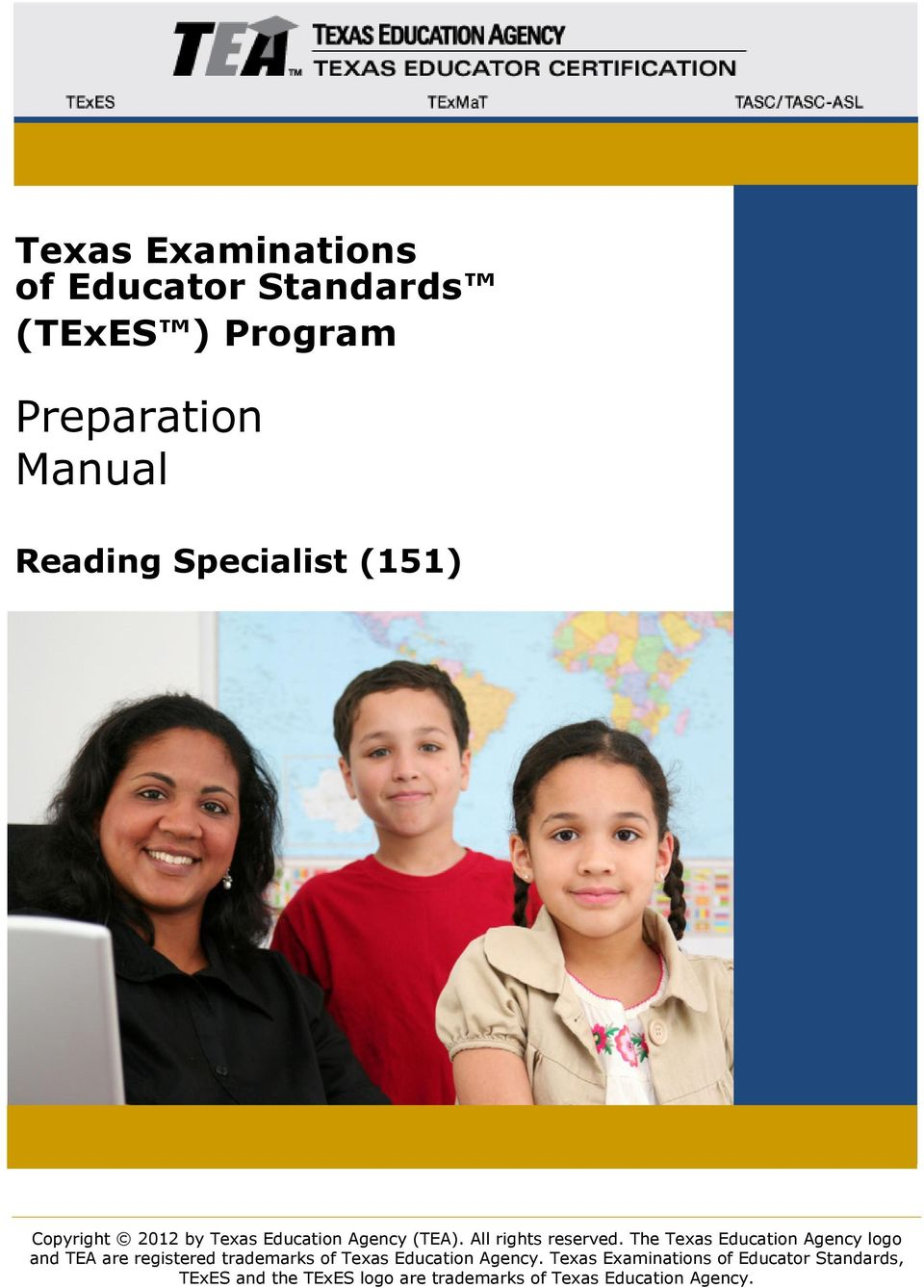 The Texas Education Agency logo and TEA are registered trademarks of Texas Education Agency.
