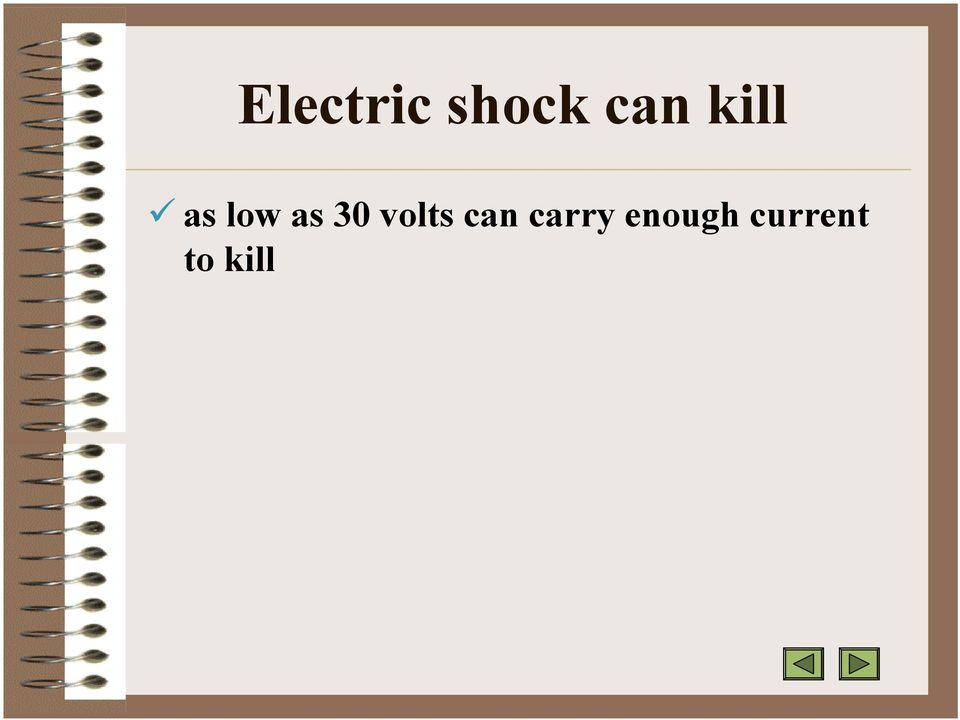 volts can carry