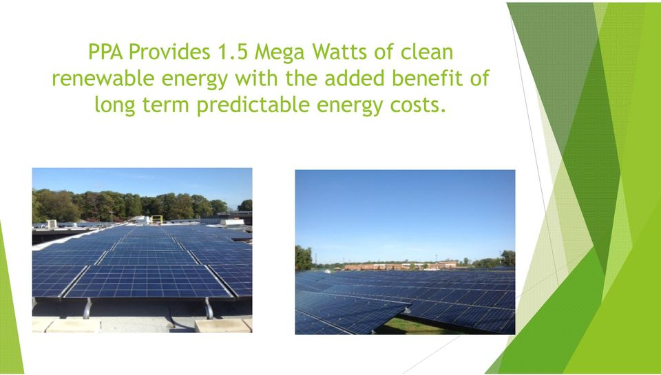 renewable energy with the