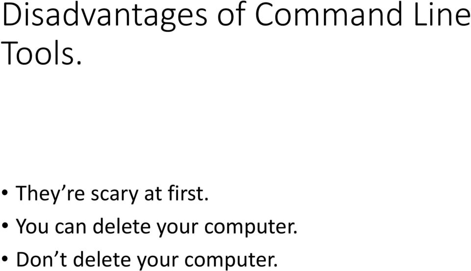 You can delete your computer.