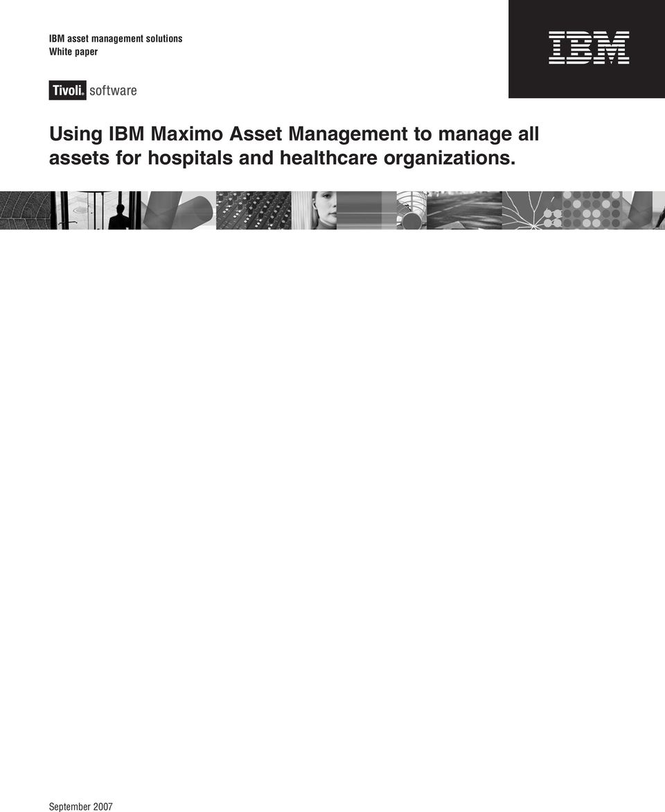 Management to manage all assets for