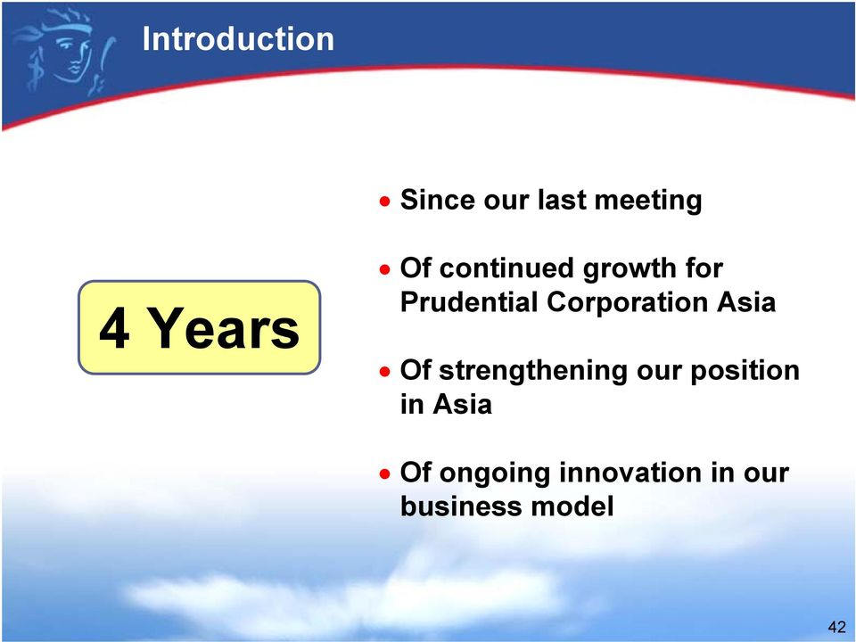 Corporation Asia Of strengthening our