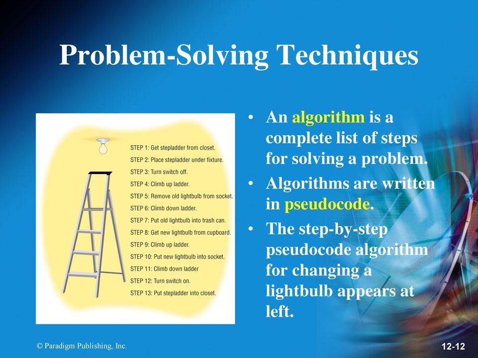 Algorithms are written in pseudocode.