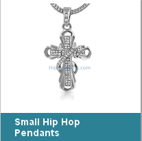 Rhodium Hip Hop Jewelry Hip Hop Jewelry dipped in rhodium is the most popular color for bling bling pieces. Rhodium looks like platinum so it has the same look and shine as platinum.